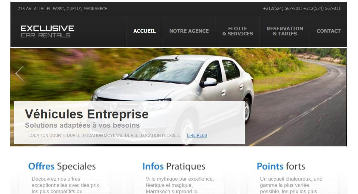 Agence Location Voiture – Exclusive Car Rental