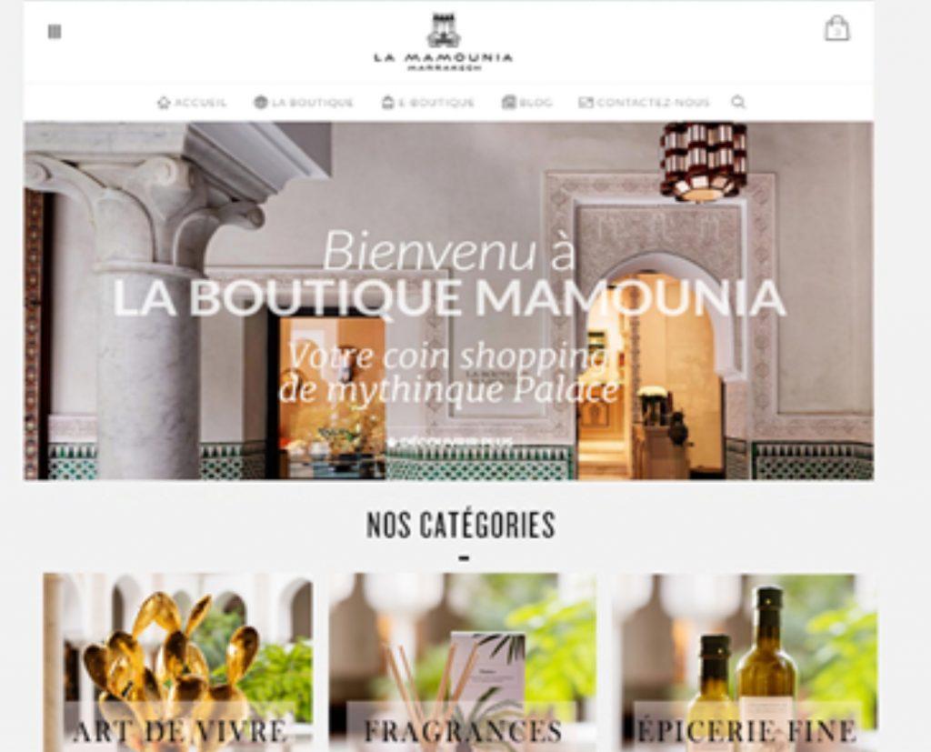 """Boutique  « La Mamounia"""" »"""